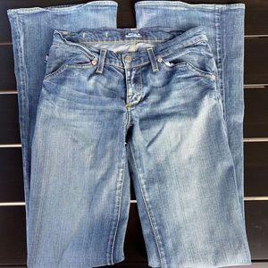 Rock & Republic Jeans - Rock & Republic Flare Motley Low Rise Jeans